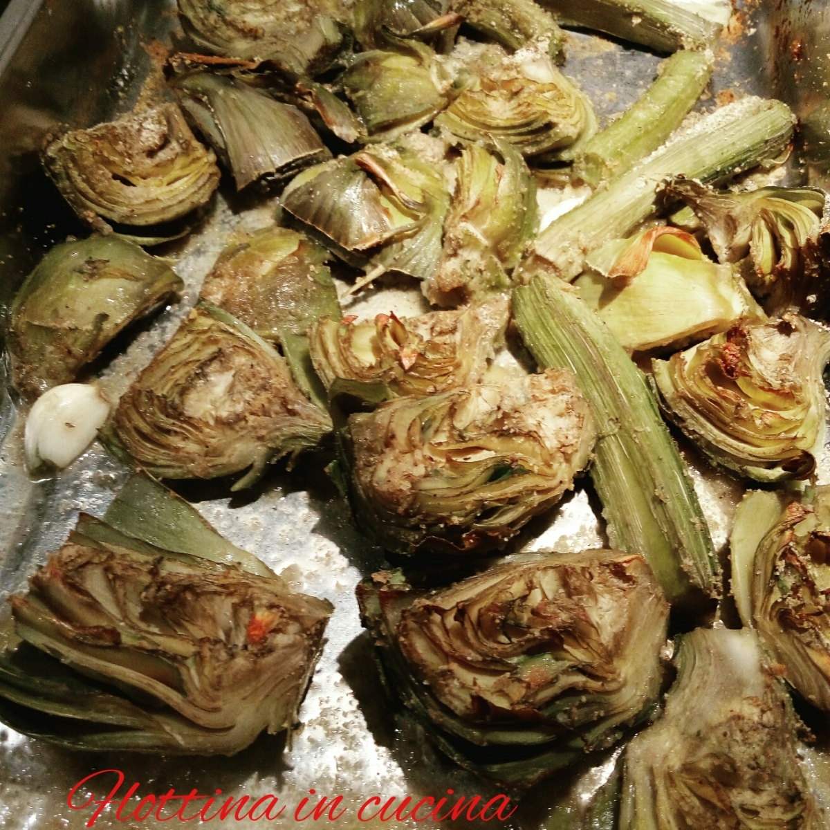 Carciofi al forno light