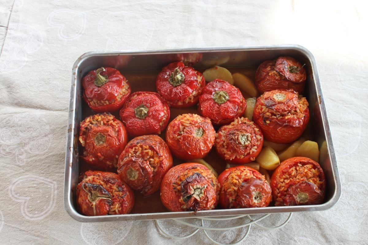 Pomodori al riso di chef Campoli