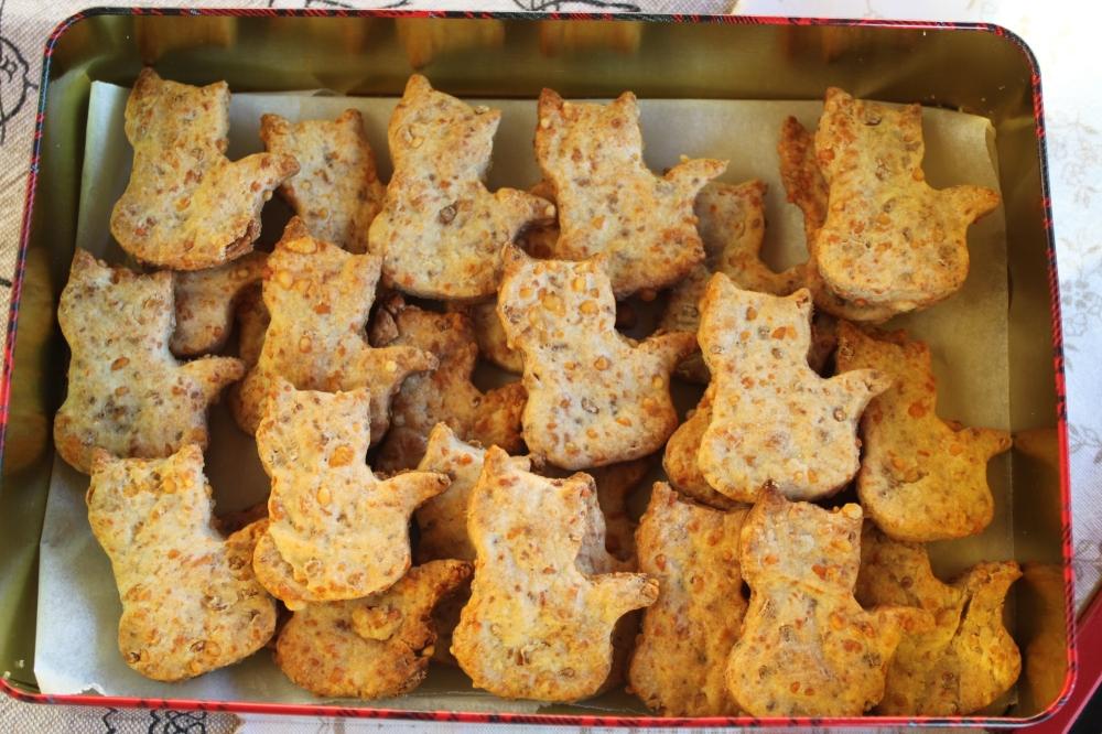Biscotti al formaggio per cani