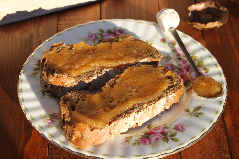 Confettura di melannurca, miele e zucca