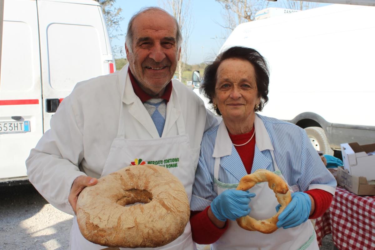 Veroli: Franco e Lucia Sanità, un amore di pane