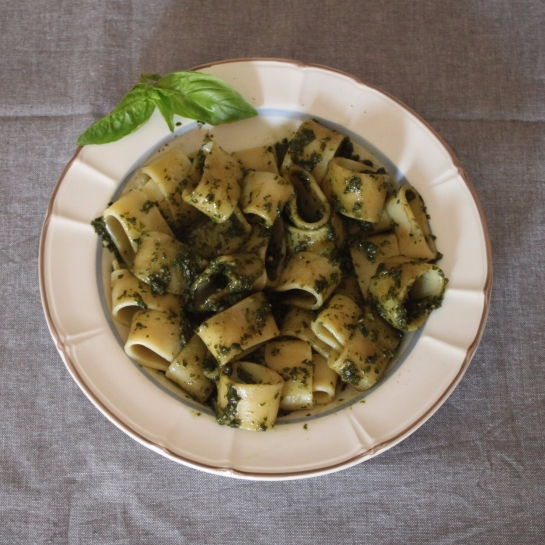 Pesto di basilico light