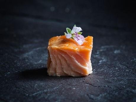 salmone affumicato a caldo del Burren Smokehouse